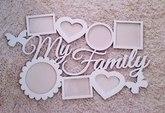"Фоторамка ""My Family"""