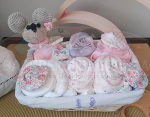 """Корзина для новорожденной """"Маленькая леди"""""""