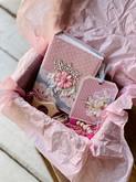 Подарочный набор малышке (фотоальбом, прорезыватель-держатель для соски и карточка)
