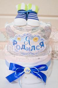 Торт из памперсов Алексей