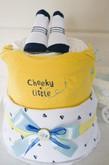 """Торт из памперсов для мальчика """"Smile"""""""
