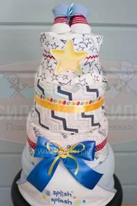 Торт из памперсов Дмитрий