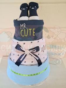 Торт из памперсов Максимка
