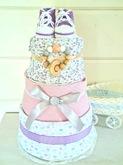 """Торт из памперсов """"Princess"""""""