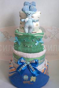 Торт из памперсов Савелий