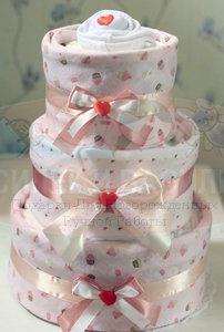 Торт из памперсов Анна
